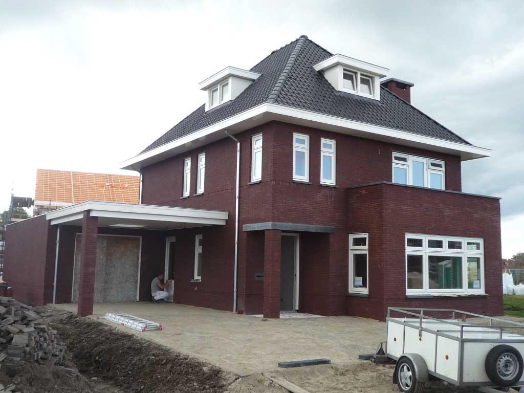 In 30er jaren stijl gebouwde woning