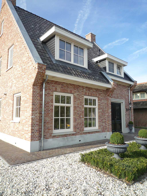 Ontwerp nieuwbouw woning klassiek engelse stijl schaepers - Mooie huis foto ...