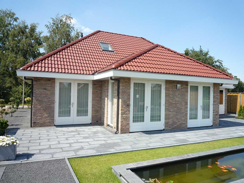 Ontwerp eigentijds nieuwbouw huis enschede schaepers bouwontwerp - Exterieur ingang eigentijds huis ...