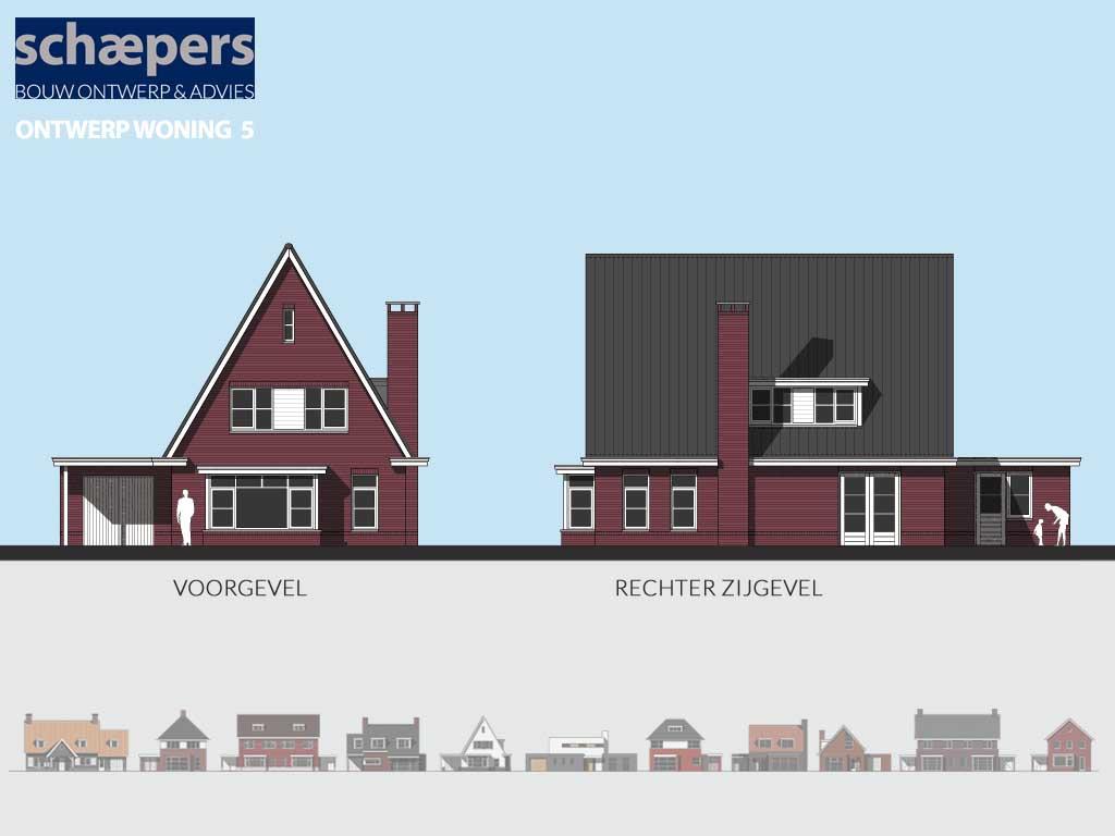 jaren 30 huis ontwerp nieuwbouw modelwoning voorbeelplan